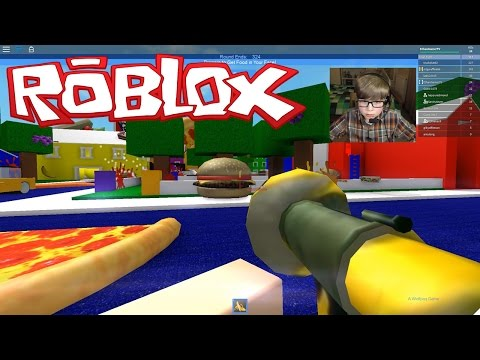 ROBLOX Let s have a FOOD FIGHT