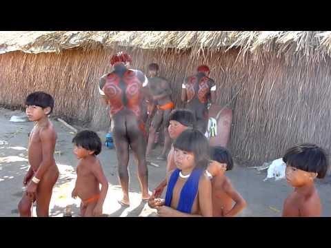 Brazil Xingu Indios Kamayura Kuarup