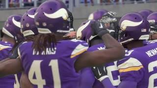 New Orleans Saints vs Minnesota Vikings NFC 1/14 NFL Divisional Playoff Saints vs Vikings MADDEN 18