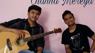 Channa Mereya Reprised acoustic cover version by Faizan and Ishaan (ARIJIT SINGH)