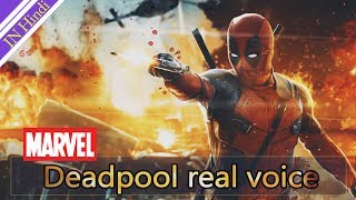 कौन है इस बुलंद अबाज के पीछे || Deadpool Real voice || in Hindi 720p