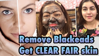 DIY Activated Charcoal Face Wash/Mask - Skin Whitening & Remove Blackheads - Get CLEAR GLOWING skin