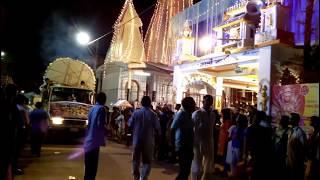 Dharmanagar town । মা দুর্গার কৈলাস যাত্রা । মনের দুঃখে নাচে সবাই গানের তালে তালে ।