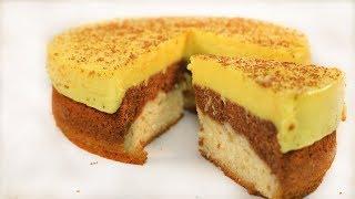 3-in-1 Cake Recipe II চকলেট –ভ্যানিলা-পুডিং কেক রেসিপি II Chocolate Vanilla Pudding Cake Recipe