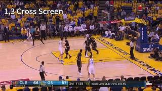 Golden State Warriors - Curry-Durant Screen