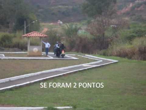 Exame Moto Pista