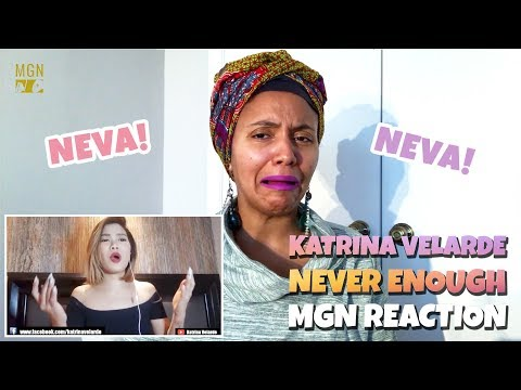 Katrina Velarde - Never Enough | The Greatest Showman | M-ANGEL REACTION