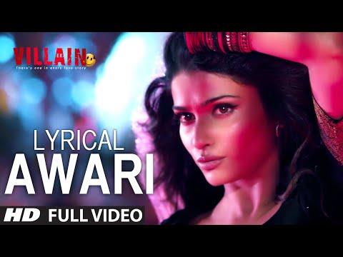 Xxx Mp4 LYRICAL Awari Song Ek Villain Sidharth Malhotra Shraddha Kapoor 3gp Sex
