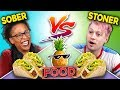 Can Sober People Guess Food Explained By High People?