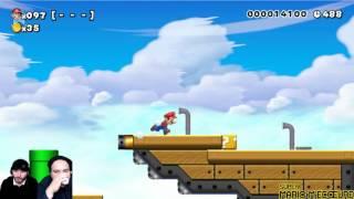 [Ep#39] Super Mario M'écœure - 100 man expert full US avec mrquaraté part1