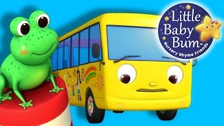 Ten Little Buses | Part 2 | From Wheels On The Bus | Nursery Rhymes | By LittleBabyBum!