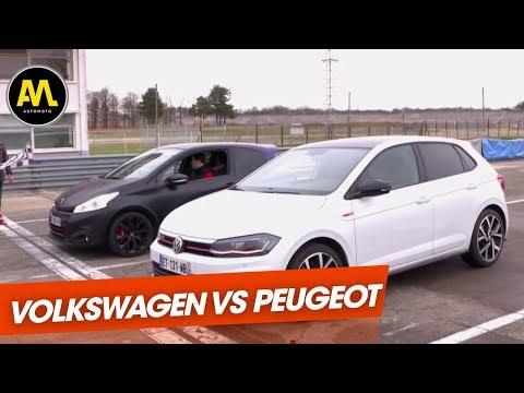 Le match des GTI Volkswagen Vs. Peugeot