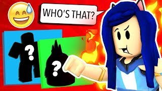 CAN YOU GUESS THE CHARACTER? ROBLOX CHALLENGE!