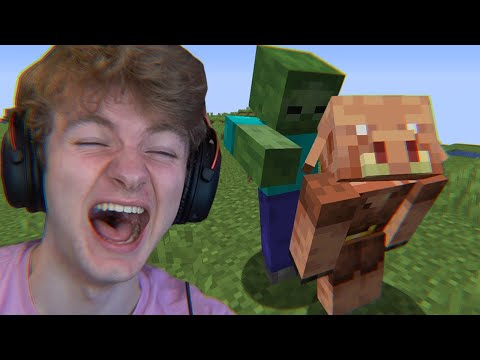 Minecraft's Morph Mod But If You Laugh You Lose…