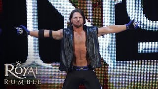 AJ Styles' WWE Debüt: Royal Rumble 2016 (WWE Network)