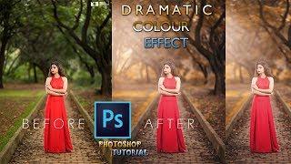 Photoshop Colour Effects : Outdoor Portrait Edit (Photoshop Tutorial) ❤🔥