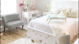 ROOM TOUR (Shabby Chic Princess Room) Beauty Room / Office Space / Tea Area / China Collection