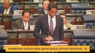 Pemberian dividen beri impak besar kepada Petronas -KJ