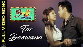 Tor Deewana | Full Video Song | Teen Than Bhokwa | Chhattisgarhi Movie | Amit | Bheekhaam | Pragati