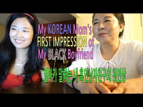 My Korean Mom's First impression of my Black Boyfriend Q&A#1 Grandma in New York City!! Vlog ep. 79