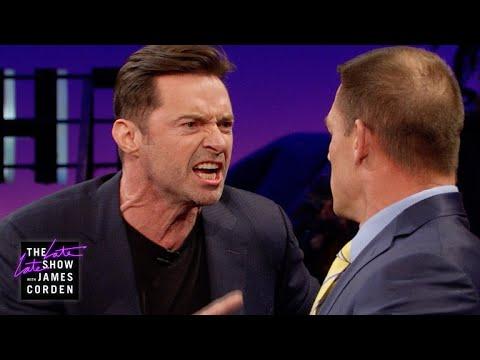 Xxx Mp4 John Cena Teaches Hugh Jackman Reverse Trash Talking 3gp Sex