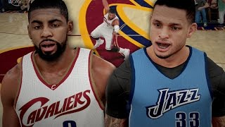 NBA 2K16 MyCAREER NBA Finals #1 - BROKE KYRIE ANKLES!! My Team Is TROLLING ME!!