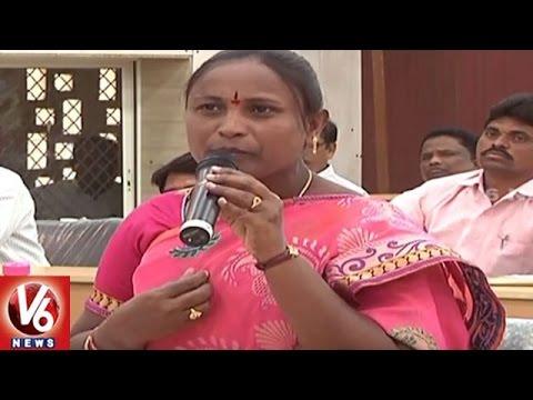 MLA Bodiga Shobha Fires On DEO Over Not Responding To Her Phone Call | Karimnagar | V6 News