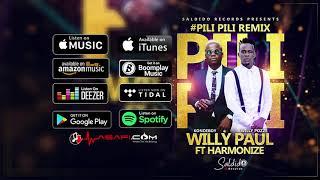 Willy Paul ft Harmonize - Pili Pili Remix (Official Audio)