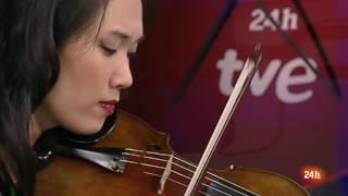 Mario Carrillo y Maureen Choi hablan sobre Música Creativa en La Hora Cultural (24 h TVE)