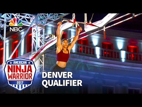 Meagan Martin at the Denver Qualifiers American Ninja Warrior 2017