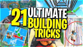 The ONLY 21 Fortnite Building Tips You Will EVER Need | LEARN EVERYTHING About Winning Build Battles