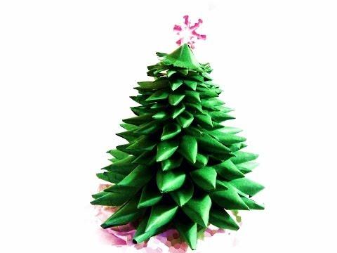 Jak zrobić choinkę z papieru Ozdoby świąteczne