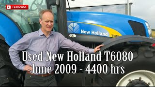 Used New Holland T6080. SOLD