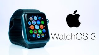 Apple Watch OS 3 - TOP 20 NEW Features!