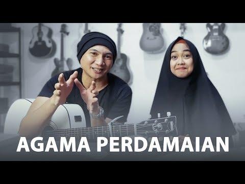 DEEN ASSALAM - MAKNA LAGU & COVER | Feat. Ria Ricis