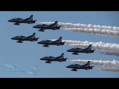 Frecce Tricolori - Aerobatic Training Flight - Zadar Croatia HD