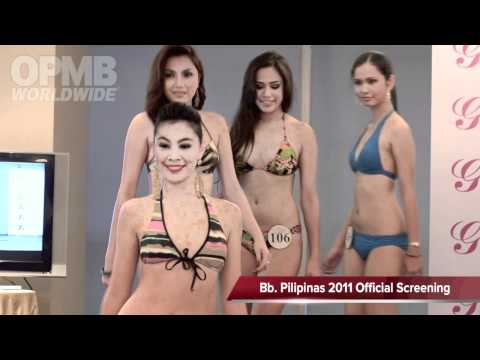 Bb. Pilipinas 2011 Swimsuit Official Screening