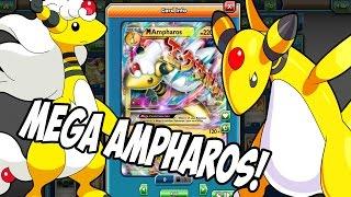 PTCGO New Mega Ampharos EX Deck! Ultimate turn 2 paralysis deck xD (Pokemon TCG Online)