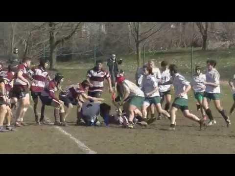 Rugby U18 - G.Brianza vs Cernusco - 01/03/2015 2° tempo