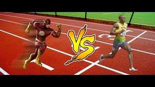 The Flash vs Usain Bolt   Taruhan Mie Abang Adek   Bukan Stop Motion   #JaringanXtra #XL4GLTE