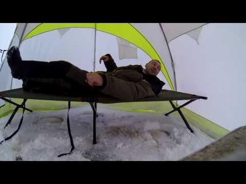 раскладушка в палатку рыболовная