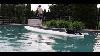 THE SELF PADDLING SURFBOARD!