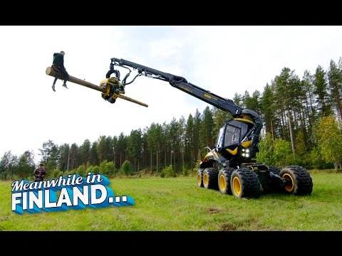 FOREST MACHINE RODEO - Meanwhile In Finland EP 1