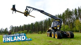 FOREST MACHINE RODEO - Meanwhile In Finland EP 1 | Dudesons