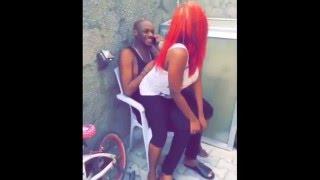 Annie Idibia Gives Tuface Lapdance Like A Stripper