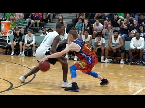 The Professor vs Real Hoopers Damages Ankles & Egos