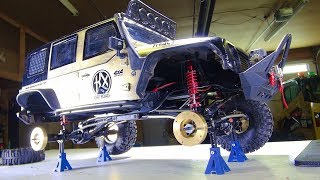 RC ADVENTURES - Mini Jack Stands Support New Axle Weights - Install & Lessons - Traction