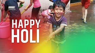 Holi Celebrations in India, Mumbai | कैसे मनाई होली मुंबई के बच्चो ने | रंगपंचमी