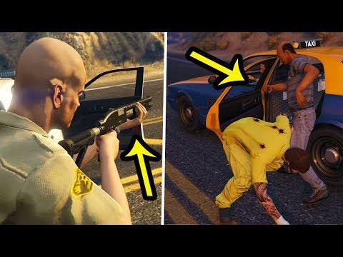 Que Fait la Police si un Braqeur Nous Attaque sur GTA Online ?