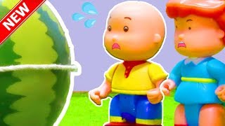 ★NEW★ CAILLOU and the GIANT MELON | Funny Animated cartoons Kids | Caillou Stop Motion | |만화 漫画